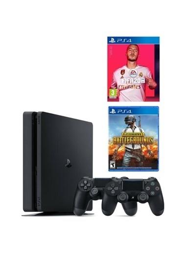 Sony Ps4 Slim 500 Gb Oyun Konsolu + 2. Ps4 Kol + Ps4 Fıfa 2020 +Pubg Renkli